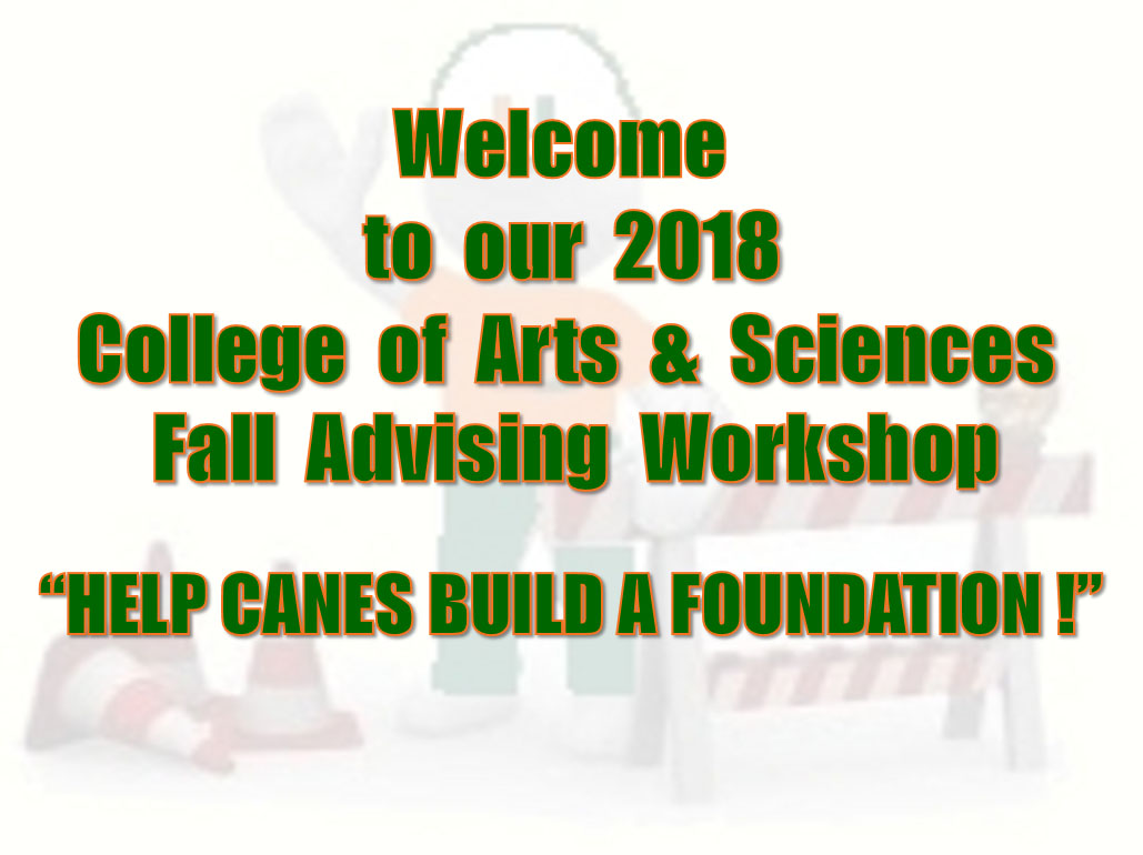 2017 Fall Workshop